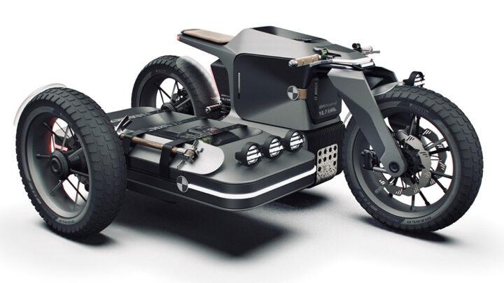 BMW concept zijspan: een dikke knipoog naar de WWII zijspannen